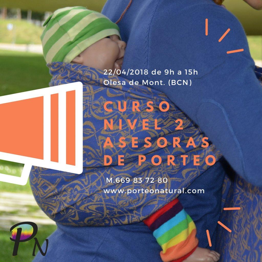 CURSO NIVEL 2 ASESORAS DE PORTEO