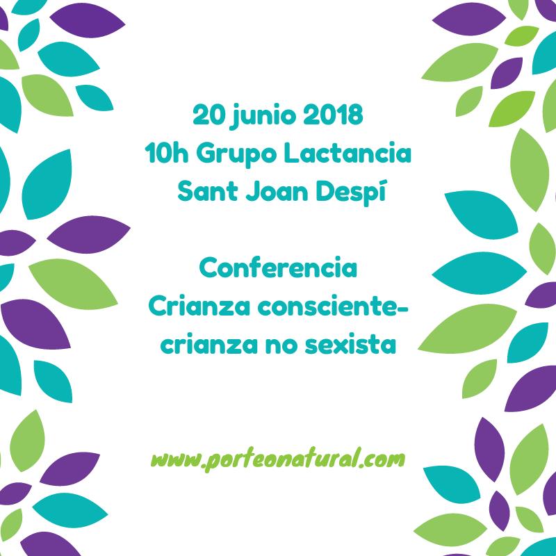 CHARLA CRIANZA NO SEXISTA @ SANT JOAN DESPÍ